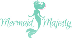 Mermaid, mermaid hair, mermaid hair for sale, braid, dreads, hair accessory, updo, ponytail
